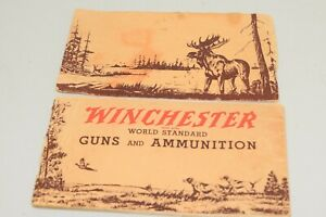 Winchester Trademark World Standard Guns and Ammunition 1936 Product Catalog VTG