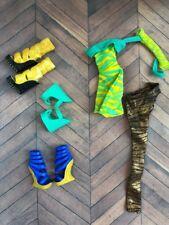 Cleo De Nile Dawn of the Dance DOTD Signature Basic Dress Monster High Doll Lot