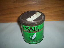 Vintage 6oz Sail Aromatic Pipe Tobacco Tin Can Holland : Smooth Dutch Cavendish