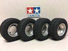 VINTAGE TAMIYA modèle original 1981 TOYOTA HILUX Wheels & GOODYEAR TYRES