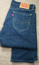 LEVI'S 511 SLIM.FIT-Med.Wash Denim/Elast. Mens 5.Pkt Stretch Jeans-(34x32)