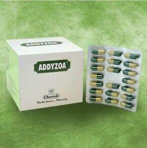 BUY 3 GET 1 FREE Charak Addyzoa Herbal Capsules 20Cap Improves sexual desire DD