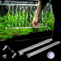 Plastic Aquarium Fish Tank Curtain Air Vent Bubble Bar Release Diffuser Set FT