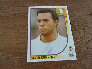 David Connolly - Ireland - Panini Korea Japan 2002 Football Sticker - Near Mint!