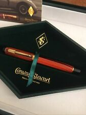 More details for conway stewart duro red ripple fountain pen
