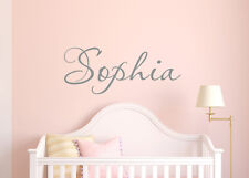 Wall Stickers custom baby name colour Large vinyl decal decor Nursery removable