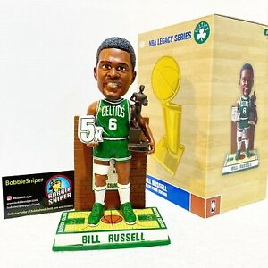 BILL RUSSELL Boston Celtics 5X MVP 11X NBA Champion #200 Exclusive Bobblehead