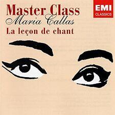 Master Class : La Leçon De Chant - Maria CALLAS - CD NEUF sous blister