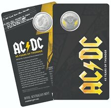 ⚡️⚡️10 x 2018 50 CENT AC/DC 45 YEARS OF THUNDER CARD COLOUR LTD ED⚡️PAY $570⚡