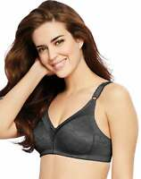 Bali Double Support Bra Wire Free Lace Spa Closure Women Soft Comfort U