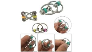 Fidget Bike Chain Ring Finger Spinner Stress Relief for ADHD Autism Sensory Toys