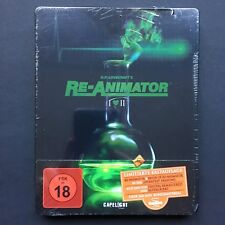 RE-ANIMATOR 1 + 2 - H.P. Lovecraft Limited UNRATED Steelbook UNCUT Blu Ray 1985