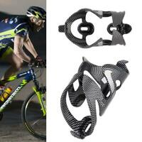 Carbon Fiber Water Bottle Cage Holder Brackets For Bicycle Bike Drink Useful