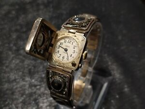 """Served"" Vintage Rare Soviet woman Watch CHAIKA FILIGREE bracelet  CHAJKA USSR"