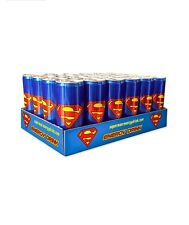 Superman Energy Drink, 1 case 24 cans 250ml.