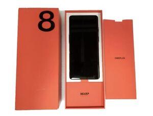 OnePlus 8 5G UW - 128GB - Verizon Smartphone - Triple Rear Cameras - Onyx Black