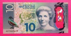 """Neuseeland 2015 , """"10 Dollar"""" Geldschein  Sheppard , Erhaltung: UNC"""