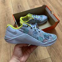 Nike Women's Metcon 5 AMP Trainers Size UK 7 EUR 41 Blue CJ0819 407 NEW