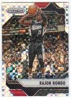 2016-17 Panini Prizm Basketball Starburst Prizm #25 Rajon Rondo Bulls