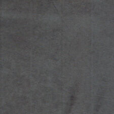 "Charcoal Micro Suede Upholstery and Drapery Fabric  60"" Wide (Gray)"