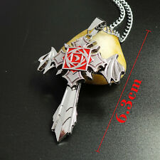 Anime Vampire Knight silver Rotatable pendant Metal Necklace Charm Gift HOT