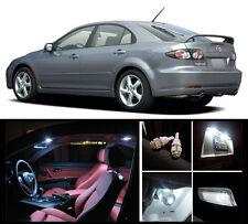 2003 - 2008 Mazda 6 Premium White LED Interior Package (7 Pieces)