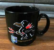 Vintage Black Magnavox Electric Bird Coffee Mug Radio TV Record Player England