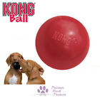 KONG Ball Red Classic ball for fetch Solid rubber for extreme bounce - 2 sizes