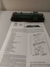 HO Scale AHM Southern Pacific Lighted Locomotive #2061