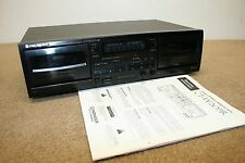 Vintage PIONEER CT-W250R Double Stereo Cassette Deck