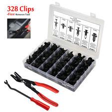 328 Clip+Tool x2 Bumper Fender Push Pin Rivet Retainer Fastener For Toyota Honda