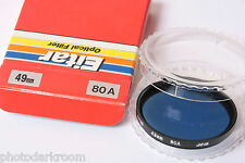 49mm 80A Blue Photo Filter - Eitar Japan - NEW F12