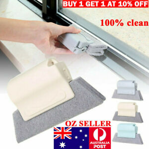 Window Door Track Cleaning Brush Gap Groove Sliding Tools Dust Cleaner Kitchen *