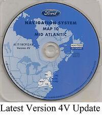 05 06 07 Ford Escape Hybrid Navigation Map Cover DE MD WV VA +Partial NJ PA NC