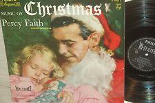 HI-FI STEREO*PERCY FAITH*music  of christmas*PHILIPS HOLLAND ORG *AUDIOPHILE