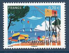 TIMBRE 5047 NEUF XX TTB - SAINT-BREVIN LES PINS - LA PLAGE - PARASOLS