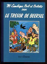 BOB et BOBETTE   Le  Trésor de Beersel   VANDERSTEEN  Collection Série Bleue