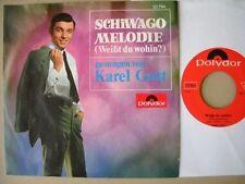 Karel Gott - Schiwago-Melodie - Single 1967 D Polydor 52 794