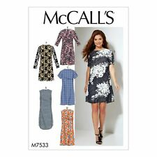 McCall's SEWING PATTERN -  Women's Dresses - Size 8 TO 16  - M7533-B5