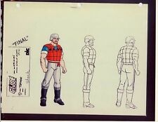 "G.I. GI Joe Topside Model Cel ""PHOTO"" 80-90's Cartoon 1990 Dic Animation City"