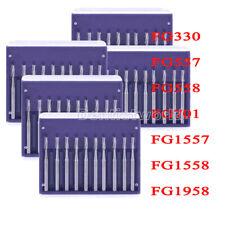 Dental High Speed Handpiece Tungsten Carbide Fg Burs 330557701155819581557