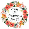 DMC Huge Modern Offer Cross Stitch Embroidery Pattern Kit PDF Chat 14 Count