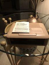 Sony Dream Machine Icf-C240 Am Fm Led Alarm Clock Radio Tan Beige