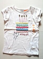 Gymboree Birthday Girl Cake Tee Shirt Top Toddler Girl's Size 2T NEW