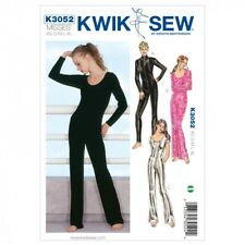 Kwik Sew Ladies Dancewear Sewing Pattern 3052 Full Body Leotards (KwikSew-3052)