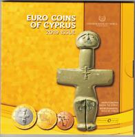 Coffret BU Chypre 2019 - 8 Pièces 1 centimes à 2 Euros en Coffret Officiel