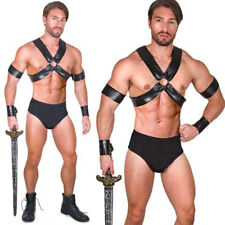 Mens Sexy Gladiator Roman Spartan Warrior Centurion Halloween Costumes Adult XL
