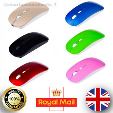 2.4GHz Wireless Mouse Mice Optical Scroll+DPI PC Laptop Computer Macbook UK Fast