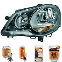 Scheinwerfer links VW Polo 9N3 05-09 für GTI Hella schwarz inkl. Lampen 1373524