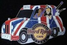 Hard Rock Cafe COZUMEL 2009 FOUNDERS DAY Taxi Car UK Flag PIN 38th - HRC #54361